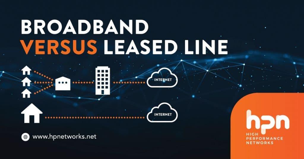 Broadband versus Leased Line